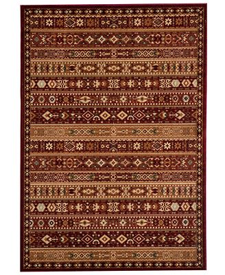CLOSEOUT! Momeni Area Rug, Belmont BE-04 Red 5' 3