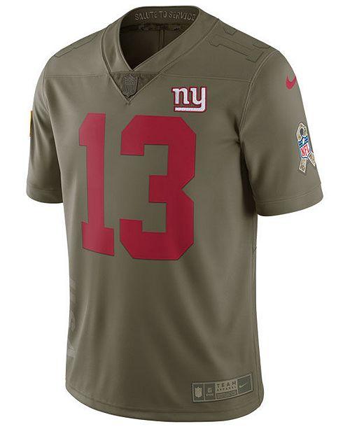 new style 383be 443e0 Nike Men's Odell Beckham Jr. New York Giants Salute To ...