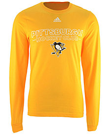 adidas Men's Pittsburgh Penguins Frontline Long Sleeve T-Shirt