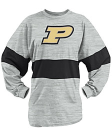 Royce Apparel Inc Women's Purdue Boilermakers Morehead Sweeper Shirt