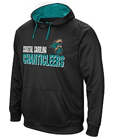 Colosseum Men's Coastal Carolina Chanticleers Stack Performance Hoodie