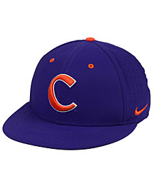 Nike Clemson Tigers Aerobill True Fitted Baseball Cap