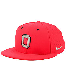 Nike Ohio State Buckeyes Aerobill True Fitted Baseball Cap