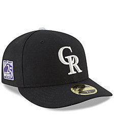 New Era Colorado Rockies Authentic Collection 25th Anniversary Low Profile 59FIFTY Cap