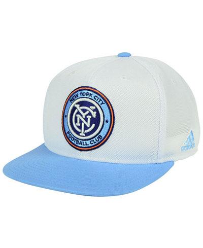 adidas New York City FC 2Tone Snapback Cap