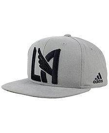 adidas Los Angeles Football Club Gray Snapback Cap