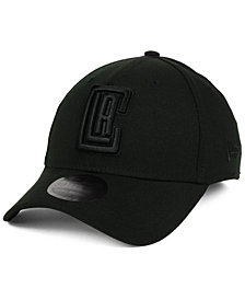 New Era Los Angeles Clippers Blackout 39THIRTY Cap