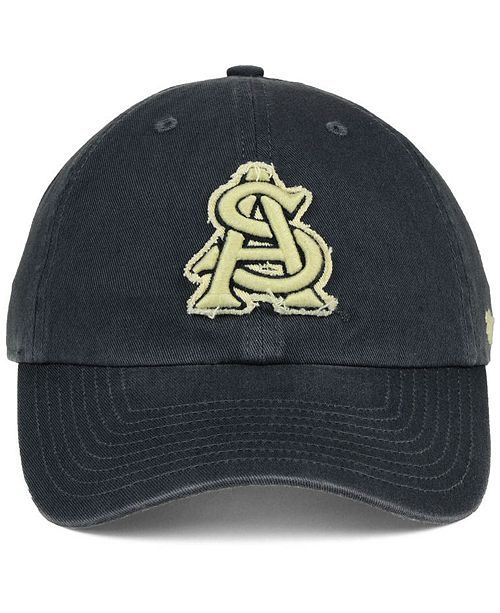 pretty nice 209d0 144de ...  47 Brand Arizona State Sun Devils Double Out CLEAN UP Cap    ...