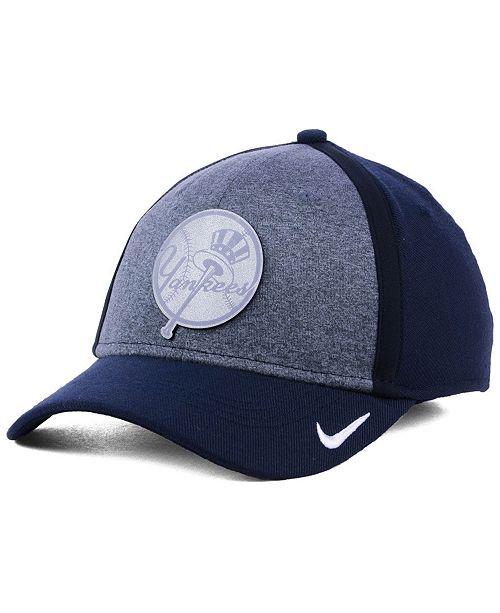 6e4ecaf87 Nike New York Yankees Team Color Reflective Swooshflex Cap ...