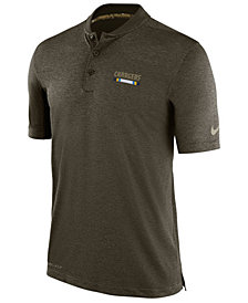 Nike Men's Los Angeles Chargers Salute To Service Polo