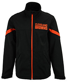 G-III Sports Men's Cleveland Browns The Franchise Softshell Jacket