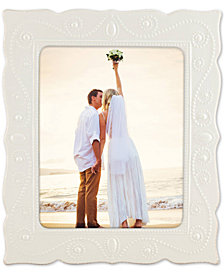 "Lenox French Perle 8"" x 10"" Picture Frame"