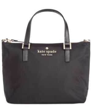 Watson Lane - Lucie Nylon Crossbody Bag - Black, Black/Gold