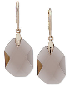Lauren Ralph Lauren Gold-Tone Colored Stone Drop Earrings