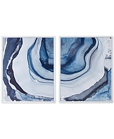 Madison Park Ethereal 2-Pc. Framed Canvas Print Set