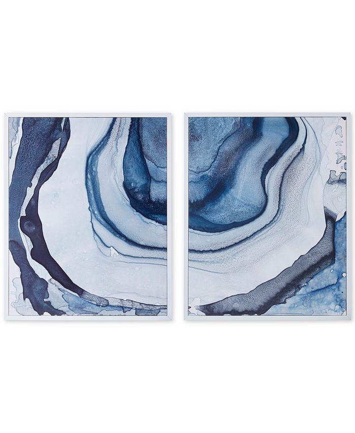 JLA Home - Madison Park Ethereal 2-Pc. Framed Canvas Print Set