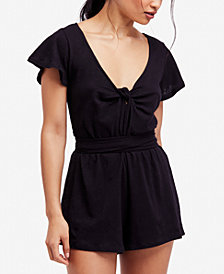 Free People Ballerina Wrap Romper