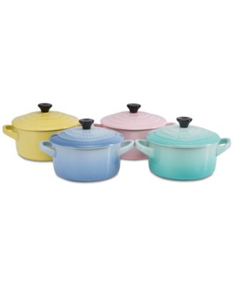 Sorbet Collection 8-Pc. Mini Lidded Cocottes Set