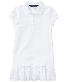 Ralph Lauren Pleated Polo Dress, Toddler Girls