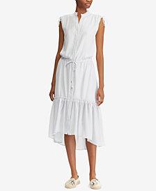Lauren Ralph Lauren Drawstring Dress