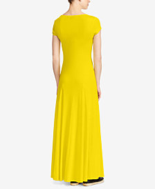 Lauren Ralph Lauren Petite Fit & Flare Maxidress
