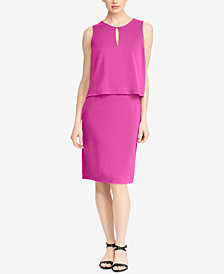 Lauren Ralph Lauren Petite Sleeveless Dress