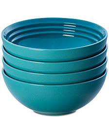 Le Creuset 4-Pc. Soup Bowls Set