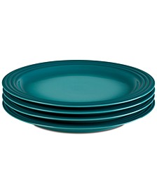 "4-Pc. 10.5"" Dinner Plates Set"