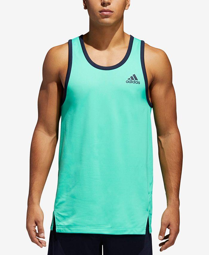 adidas Men's Mesh Tank Top & Reviews - T-Shirts - Men - Macy's