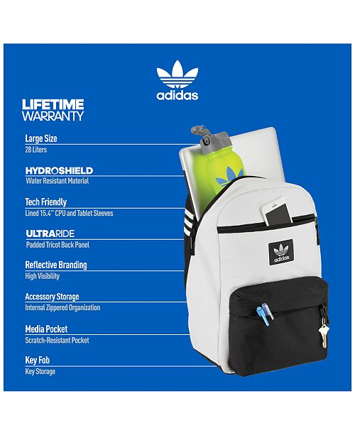 456311be4712 adidas National Plus Backpack - All Accessories - Men - Macy s