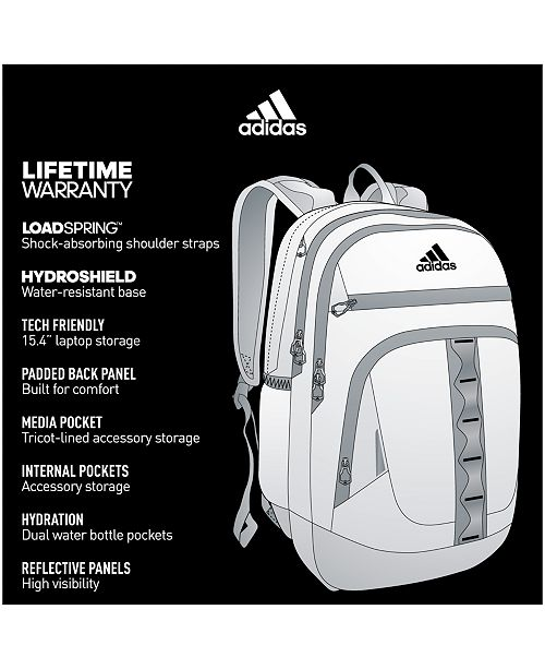 83936e42fa adidas Prime IV Backpack   Reviews - All Accessories - Men - Macy s