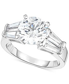 Swarovski Zirconia Ring in Sterling Silver