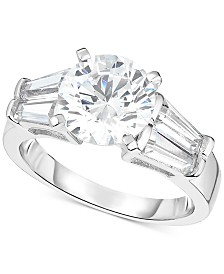 Arabella Swarovski Zirconia Ring in Sterling Silver