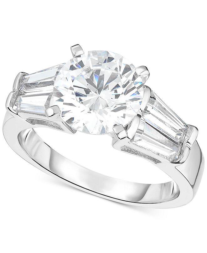 Arabella Swarovski Zirconia Ring in Sterling Silver