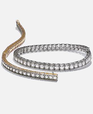 Macy S Diamond Bracelet In 10k Gold 5 Ct T W Bracelets