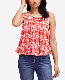 Free People Lucky Coin Swing Tank Top