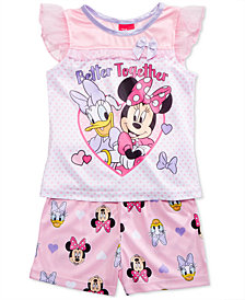 Disney's® Minnie Mouse & Daisy Duck 2-Pc. Better Together Pajama Set, Toddler Girls