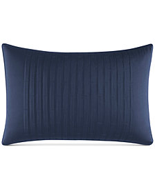 "Nautica Waterbury 14"" x 20"" Pleated Decorative Pillow"