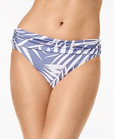 Calvin Klein Ruched-Waist Bikini Bottoms