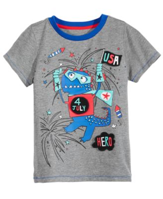 Flap-Graphic T-Shirt, Toddler Boys, Created for Macy's