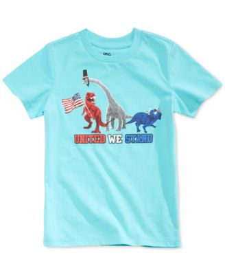 Graphic-Print T-Shirt, Little Boys, Created for Macy's