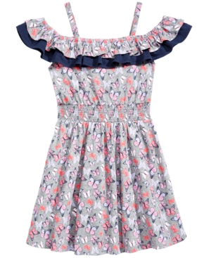 Epic Threads ButterflyPrint Ruffle Dress Big Girls Created for Macys