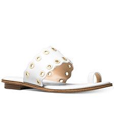 MICHAEL Michael Kors Women's Patty Flat Sandals