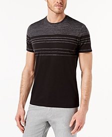 Alfani Men's Engineered Stripe T-Shirt, Created for Macy's