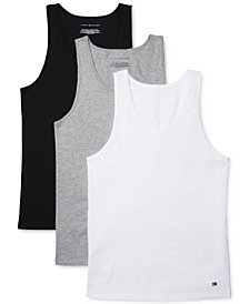 Tommy Hilfiger Men's 3-Pk. Cotton Tank Tops