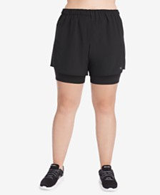 Champion Plus Size 2-in-1 Shorts