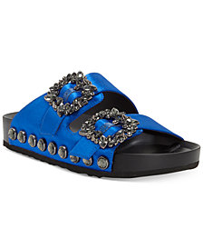 Jessica Simpson Gemelia Flatform Footbed Slide Sandals