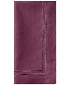 Waterford Corra Burgundy Set of 4 Napkins