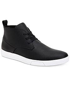 Calvin Klein Men's Bain Saffiano Chukka Boots