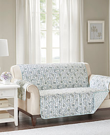 Madison Park Dawn Reversible Printed Loveseat Protector